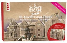 Cover-Bild zu 24 DAYS ESCAPE 3D-Adventskalender - Sherlock Holmes und das Anwesen Moriarty
