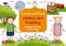 Cover-Bild zu Emma und Paul erleben den Frühling. Spielfiguren für die Erzählschiene von Lehner, Monika