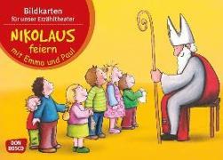 Cover-Bild zu Nikolaus feiern mit Emma und Paul. Kamishibai Bildkartenset von Lehner, Monika