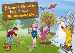 Cover-Bild zu Bildkarten für unser Erzähltheater: Wir erleben das Jahr von Lehner, Monika