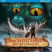 Cover-Bild zu Drachenzähmen leicht gemacht (2). Wilde Piraten voraus! (Audio Download) von Cowell, Cressida
