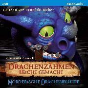 Cover-Bild zu Drachenzähmen leicht gemacht (4). Mörderische Drachenflüche (Audio Download) von Cowell, Cressida