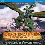 Cover-Bild zu Drachenzähmen leicht gemacht (8). Flammendes Drachenherz (Audio Download) von Cowell, Cressida
