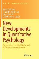Cover-Bild zu New Developments in Quantitative Psychology von Millsap, Roger E. (Hrsg.)