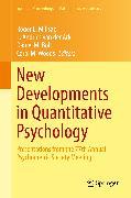 Cover-Bild zu New Developments in Quantitative Psychology (eBook) von Bolt, Daniel M. (Hrsg.)
