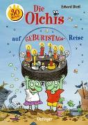 Cover-Bild zu Die Olchis auf Geburtstagsreise von Dietl, Erhard