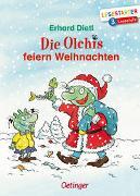 Cover-Bild zu Die Olchis feiern Weihnachten von Dietl, Erhard