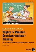 Cover-Bild zu Tägl. 5 Min. Grundwortschatz-Training von Jebautzke, Kirstin
