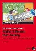 Cover-Bild zu Täglich 5 Minuten Lese-Training - 1./2. Klasse (eBook) von Kirschbaum, Klara