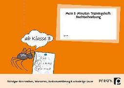 Cover-Bild zu Mein 5-Min-Trainingsheft: Rechtschreibung 1 von Hohmann, Karin