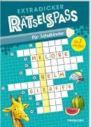 Cover-Bild zu Extradicker Rätselspaß für Schulkinder von Lohr, Stefan (Illustr.)