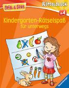 Cover-Bild zu Kindergarten-Rätselspaß für unterwegs von Lohr, Stefan