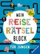 Cover-Bild zu Mein Reise-Rätselblock für Jungen von Bürgermeister, Tanja