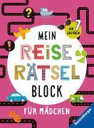 Cover-Bild zu Mein Reise-Rätselblock für Mädchen von Penner, Angelika (Illustr.)
