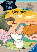 Cover-Bild zu Rätselblock von Punkt zu Punkt: Bei den Dinos von Richter, Martine