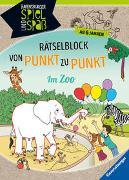 Cover-Bild zu Rätselblock von Punkt zu Punkt: Im Zoo von Siegmund, Sybille