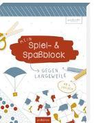Cover-Bild zu Mein Spiel- & Spaßblock gegen Langeweile von Löwenstein, Anne und Ruth