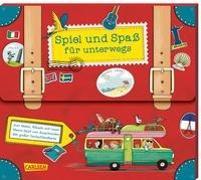 Cover-Bild zu Spiel und Spaß für unterwegs (Buch-Set in Kofferform) von diverse