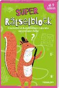 Cover-Bild zu Super Rätselblock ab 9 Jahren.Kreuzworträtsel, Buchstabensalate, Labyrinthe und viele andere Rätsel von Heine, Stefan