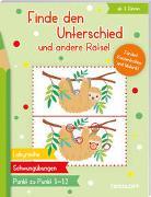 Cover-Bild zu Finde den Unterschied und andere Rätsel von Beurenmeister, Corina (Illustr.)