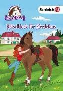 Cover-Bild zu SCHLEICH® Horse Club - Rätselblock für Pferdefans