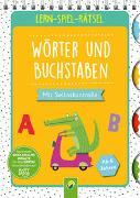 Cover-Bild zu Lern-Spiel-Rätsel Wörter und Buchstaben