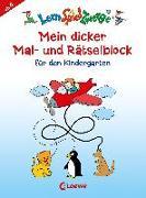 Cover-Bild zu LernSpielZwerge - Mein dicker Mal- und Rätselblock für den Kindergarten von Loewe Lernen und Rätseln (Hrsg.)