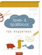 Cover-Bild zu Mein Spiel- & Spaßblock für Regentage von Löwenstein, Anne und Ruth