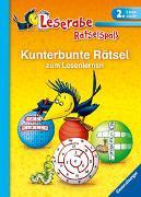 Cover-Bild zu Leserabe: Kunterbunte Rätsel zum Lesenlernen (2. Lesestufe) von Hofmann, Lena