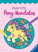 Cover-Bild zu Zauberhafte Pony-Mandalas von Lohr, Stefan (Illustr.)