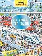 Cover-Bild zu My Big Wimmelbook-All Aboard the Train! von Lohr, Stefan