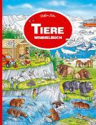 Cover-Bild zu Tiere Wimmelbuch von Lohr, Stefan (Illustr.)