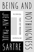 Cover-Bild zu Being and Nothingness (eBook) von Sartre, Jean-Paul