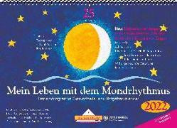 Cover-Bild zu Mein Leben mit dem Mondrhythmus 2022 Aufstellkalender von Stadig, Edith