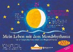 Cover-Bild zu Mein Leben mit dem Mondrhythmus 2022. Taschenkalender von Stadig, Edith