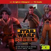 Cover-Bild zu Disney / Star Wars Rebels - Folge 16: Der vergessene Droide/Kampf um die Basis (Audio Download) von Bingenheimer, Gabriele