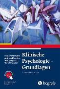 Cover-Bild zu Klinische Psychologie - Grundlagen (eBook) von Petermann, Franz