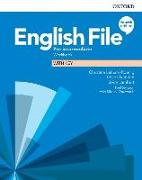 Cover-Bild zu Latham-Koenig, Christina: English File: Pre-intermediate: Workbook with Key