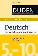 Cover-Bild zu SMS Deutsch - Rechtschreibung und Zeichensetzung 5.-10. Klasse (eBook) von Fahlbusch, Claudia
