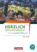 Cover-Bild zu Funk, Hermann: Herzlich willkommen!, Einstiegskurs Deutsch, Arbeitsheft, Mit Audios online