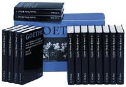 Cover-Bild zu Goethe, Johann Wolfgang von (Weitere Bearb.): Goethe Werke Hamburger Ausgabe - Goethes Werke