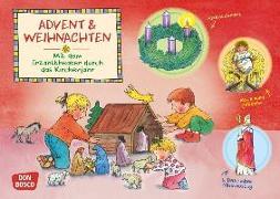 Cover-Bild zu Advent und Weihnachten. Kamishibai Bildkartenset von Hebert, Esther