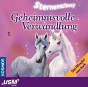 Cover-Bild zu Sternenschweif (Folge 1) - Geheimnisvolle Verwandlung (Audio-CD) von Chapman, Linda