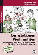 Cover-Bild zu Lernstationen: Weihnachten von Schüder, Frauke