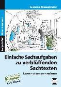 Cover-Bild zu Einfache Sachaufgaben zu verblüffenden Sachtexten von Riesselmann, Susanne