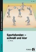 Cover-Bild zu Sportstunden - schnell und klar von Herbers, Jörn