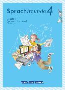 Cover-Bild zu Förster, Katharina: Sprachfreunde, Sprechen - Schreiben - Spielen, Ausgabe Süd (Sachsen, Sachsen-Anhalt, Thüringen) - Neubearbeitung 2015, 4. Schuljahr, Sprachbuch mit Grammatiktafel und Lernentwicklungsheft