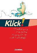 Cover-Bild zu Born, Iris: Klick! Erstlesen, Westliche und östliche Bundesländer, Teil 1-4, Schreiblehrgang in Vereinfachter Ausgangsschrift