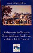Cover-Bild zu Hüttner, Johann Ch: Nachricht von der Britischen Gesandtschaftsreise durch China und einen Teil der Tartarei (Berlin 1797)