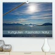 Cover-Bild zu Hurtigruten - Faszination Natur (Premium, hochwertiger DIN A2 Wandkalender 2022, Kunstdruck in Hochglanz) von Eisold, Hanns-Peter